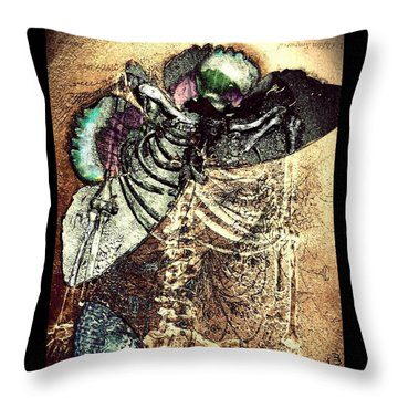The Beauty Of Decay Throw Pillow