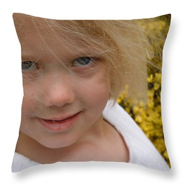 Throw Pillow featuring the photograph The Beauty Of Spring by Dan Whittemore