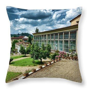 The Beauty Of The Boboli Gardens Throw Pillow
