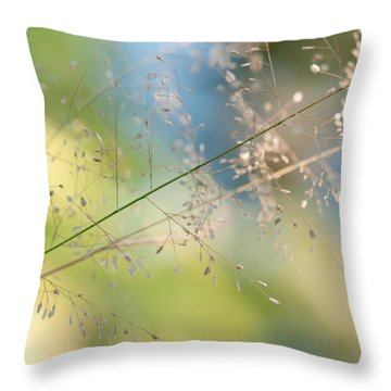 The Beauty Of The Earth. Natural Watercolor Throw Pillow