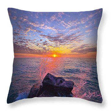 The Beauty Of The Moments In Between Throw Pillow