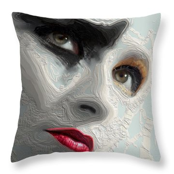 The Beauty Regime Throw Pillow