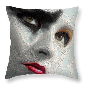 The Beauty Regime Throw Pillow