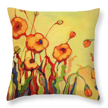 The Beckoning Throw Pillow
