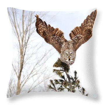 The Becoming Of The Queen Throw Pillow
