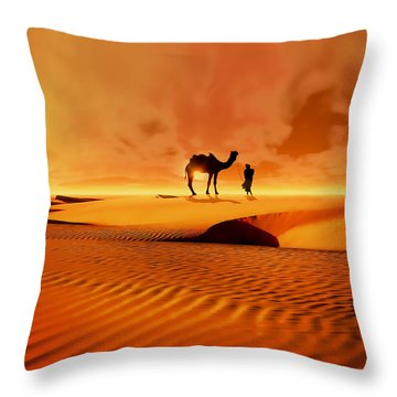 The Bedouin Throw Pillow