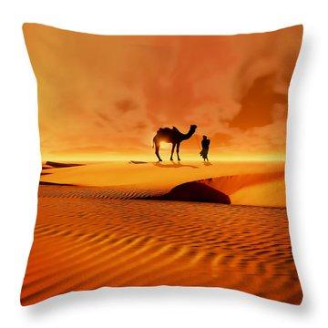 The Bedouin Throw Pillow