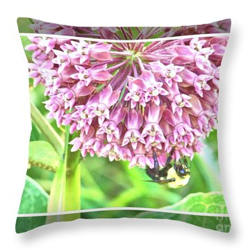 The Bees Knees Throw Pillow