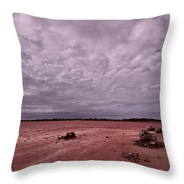 Throw Pillow featuring the photograph The Beginning I I I by Julian Cook