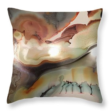 The Beginning Of Time Throw Pillow