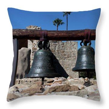 The Bells Throw Pillow