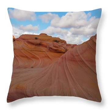 The Bends Throw Pillow