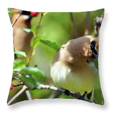 The Berry Pickers Throw Pillow