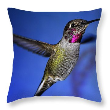The Best Feature Throw Pillow by William Lee