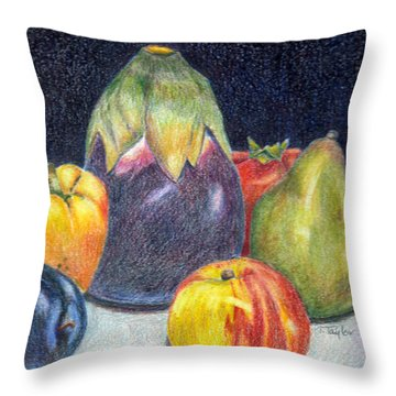 The Best Of Summer Throw Pillow by Terry Taylor