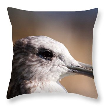 The Best Side Of The Gull Throw Pillow