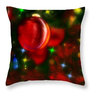 The Big Red Throw Pillow