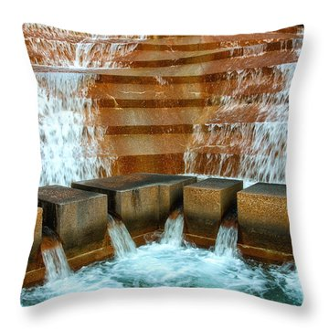 The Big Rush Throw Pillow