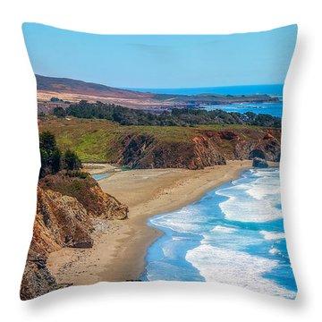 The Big Sur Throw Pillow