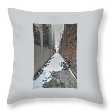 The Bike Throw Pillow