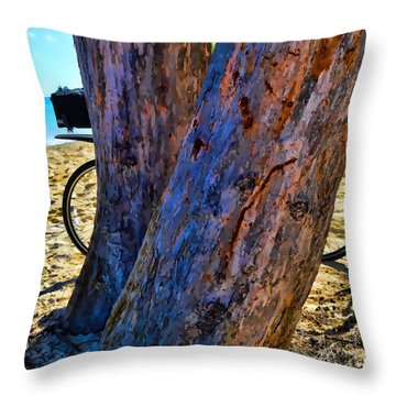 The Bike Version 1 Throw Pillow