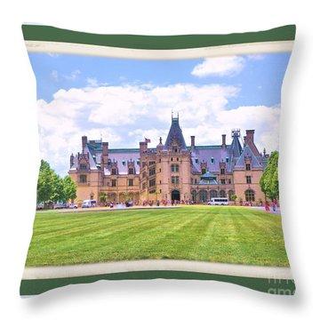 The Biltmore 4 Throw Pillow