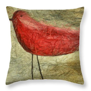 The Bird - Ft06 Throw Pillow by Variance Collections
