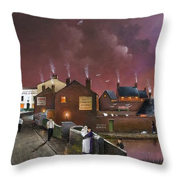 The Black Country Museum Throw Pillow