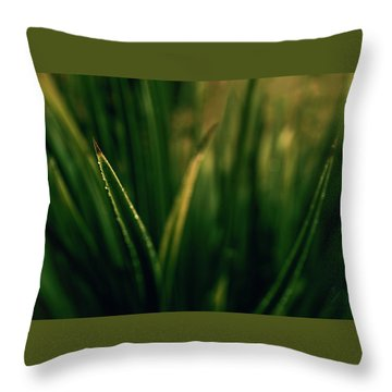 The Blade Throw Pillow