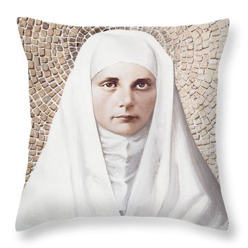 The Blessed Virgin Mary - Lgbvm Throw Pillow