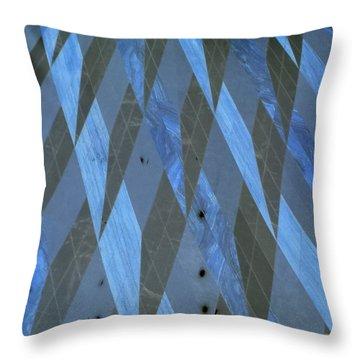 The Blue Dimension Throw Pillow