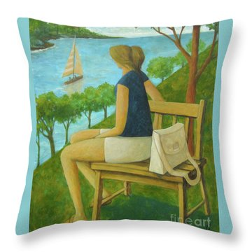 The Bluff Throw Pillow