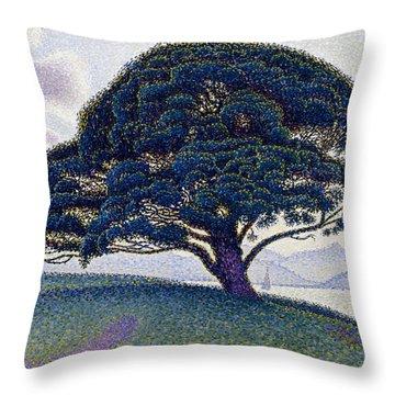 The Bonaventure Pine  Throw Pillow
