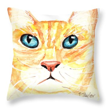 The Boss Throw Pillow by Terry Taylor