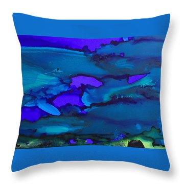 The Bottom Of The Sea Throw Pillow