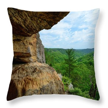 The Boulders Edge Throw Pillow