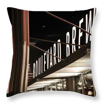 The Boulevard Deck Throw Pillow
