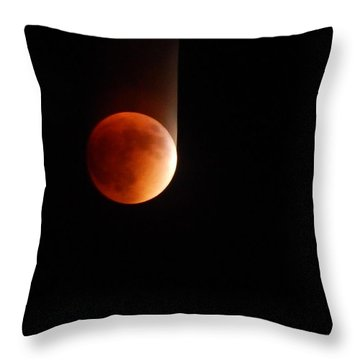 The Bouncing Eclipse Throw Pillow