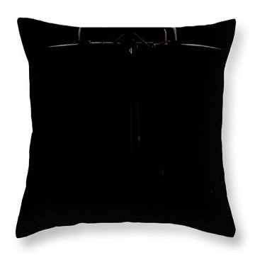 The Box Throw Pillow by Paul Job