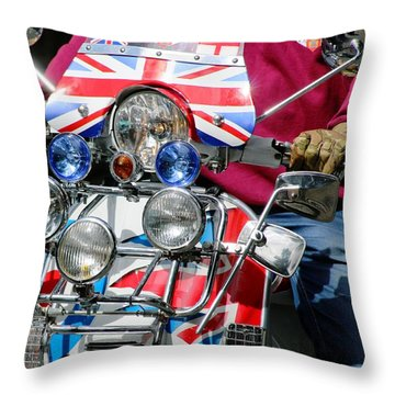 The Boys Are Back In Town Throw Pillow