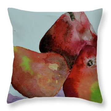 Throw Pillow featuring the painting The Boys by Beverley Harper Tinsley