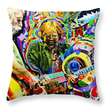 The Boys Of Summer Throw Pillow by Kevin J Cooper Artwork