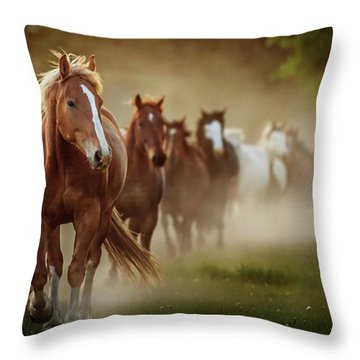 The Boys Throw Pillow