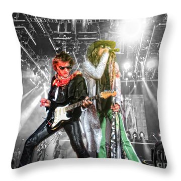 Throw Pillow featuring the photograph The Boys by Traci Cottingham