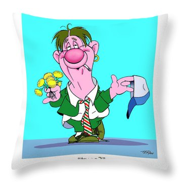 The Bozo Collection 1 Throw Pillow