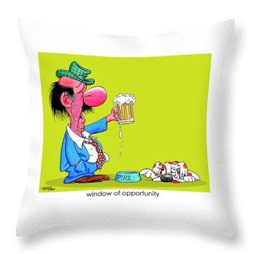 The Bozo Collection 2 Throw Pillow