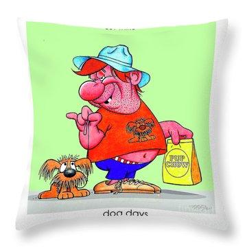 The Bozo Collection 4 Throw Pillow