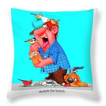 The Bozo Collection 6 Throw Pillow