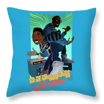 The Brand New Funk Throw Pillow