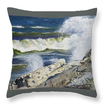 The Break Throw Pillow